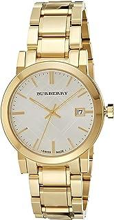 BURBERRY - BU9003 - Reloj de pulsera para hombre, chapado en oro iónico de 38 mm