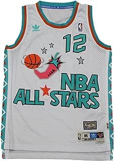 adidas Utah Jazz John Stockton 1996 All Star Swingman Jersey