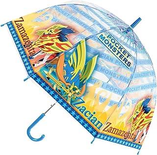 JS-32427 ポケットモンスター ソード&シールド 55㎝ 傘 ビニール傘 ドーム傘 雨 梅雨 レイン アンブレラ ファッション 服飾 おでかけ キッズ