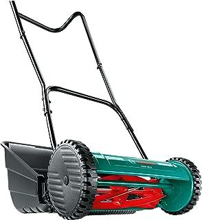 Bosch Manual Garden Lawn Mower AHM 38 G (38 cm Cutting Width, Grass Catcher Included, in Box)