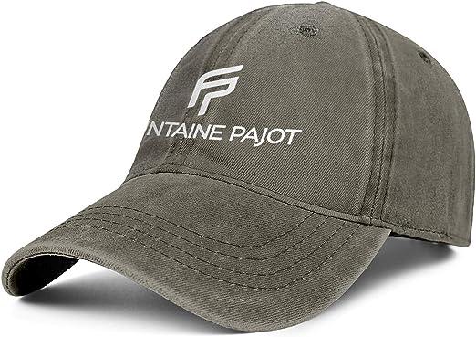 Adjustable Truck Cap Sun Hat Young Women Men Baseball Cap Retro Sparkle Fountaine-Pajot-Logo