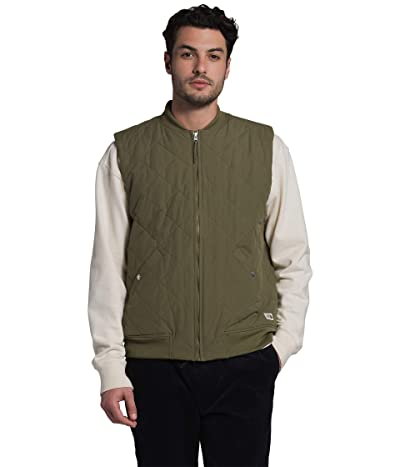 The North Face Cuchillo Insulated Vest (Burnt Olive Green) Men