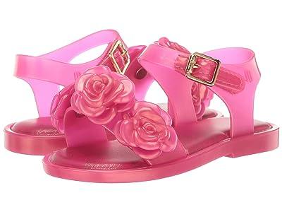Mini Melissa Mar Sandal III BB (Toddler/Little Kid) (Pink Pearl) Girl