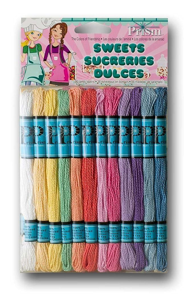 DMC Prism Craft Thread Pack 8 Meters 36/Pkg-Pastels