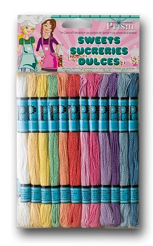 DMC Prism Craft Thread Pack 8 Meters 36/Pkg-Pastels ehknhfri769040