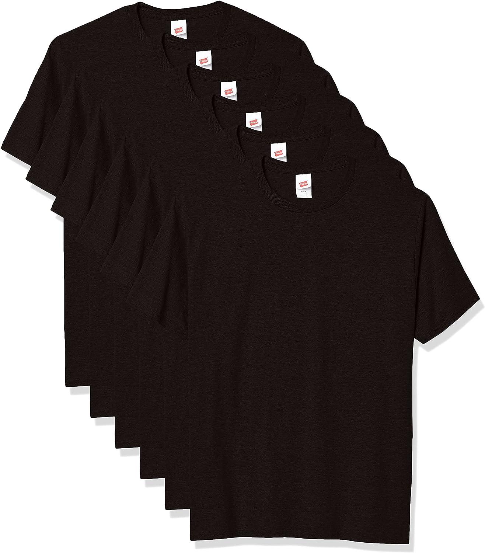 Hanes Men's Under blast sales Essentials Short 1 year warranty Sleeve T-shirt Value Pack 3-pack