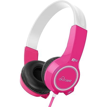 MEE audio KidJamz 2 KJ25 Safe Listening Headphones for Kids with Volume-Limiting Technology (Pink) (Discontinued)
