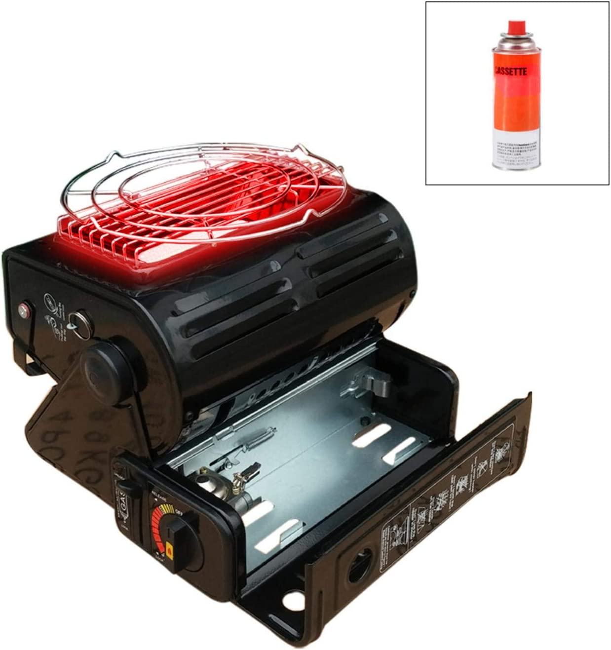 Topaty Dual-use Outdoor 35% OFF Camping Memphis Mall Heater Powered G Portable Butane