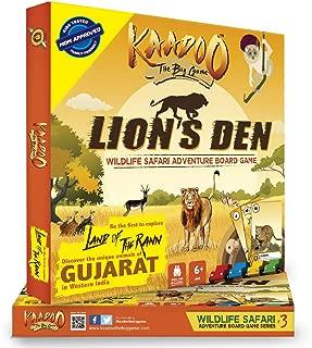 KAADOO Lion's Den-Jungle Safari Board Game