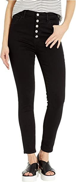Lillie High-Rise Crop Skinny in Vesper