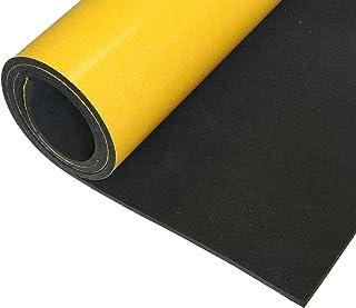 EPDM celrubber 4 mm dikte 0,5 mx1 m eenzijdig zelfklevend zwart ideaal als afdichting of afdichtingstape, maar ook als ant...