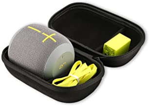 Ultimate Ears WONDERBOOM/WONDERBOOM 2 Wireless Speaker Carrying Case, ProCase Travel Bag Hard Protective Coverwith Space for Wall Charger and USB Cable –Black