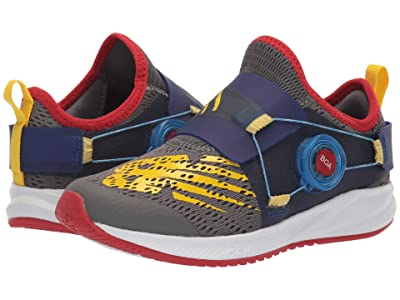 New Balance Kids FuelCore Reveal (Little Kid) (Castlerock/Vision Blue) Boys Shoes