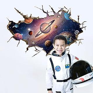 Wallpark Hermoso Galaxia 3D Espacio Universo Tierra Planetas