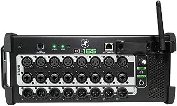 Mackie DL16S Digital Wi-Fi Soundboard Mixing Console Mixer For Church/School
