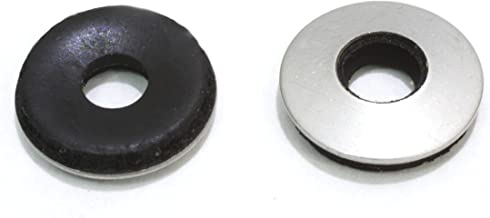 "#10 x 1/2"" OD Stainless EPDM Washers, (100 pc) Neoprene Backed, Choose Size & Qty, by Bolt Dropper."