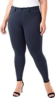 Liverpool Womens LY2015 Plus Size Madonna Legging in Super Stretch Ponte Knit Pants