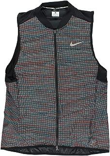 Nike Men's Aeroloft Flash Running Vest, Black
