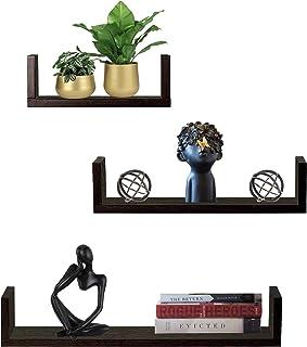 Furniture Cafe U Wall Mounted Shelf/Racks and Shelves/Books Shelf for Decor Your Living Room, Kitchen, Hall, Bed Room, Dra...