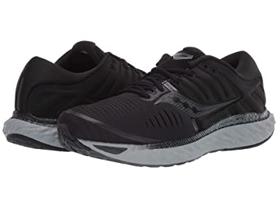 Saucony Hurricane 22 (Blackout) Men