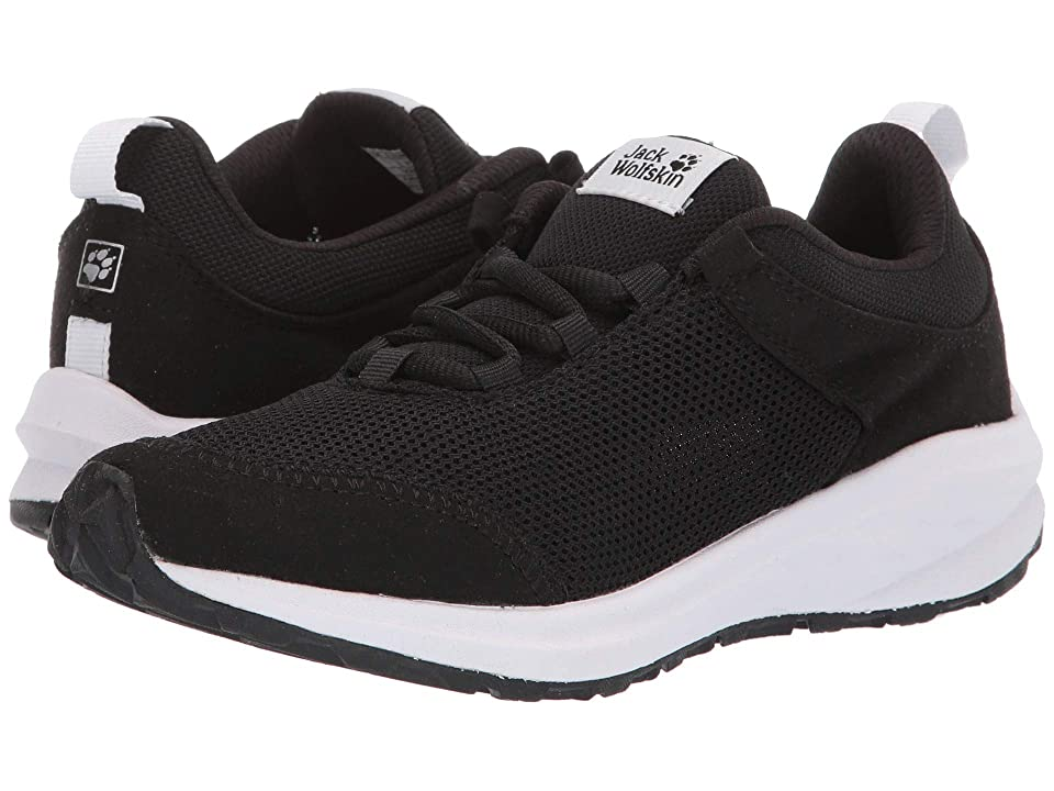 Jack Wolfskin Kids Coogee Low (Little Kid/Big Kid) (Black) Kids Shoes