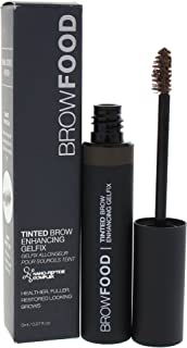 LashFood BrowFood Tinted Brow Enhancing Gelfix - Brunette for Women - 0.27 oz