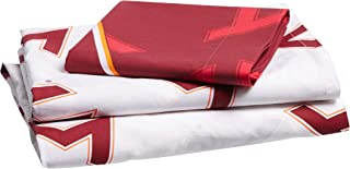 The Northwest Company Officially Licensed NCAA Oklahoma Sooners Twin Sheet Set