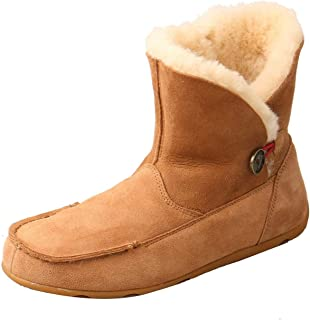Women's Slipper Boot Moc Toe