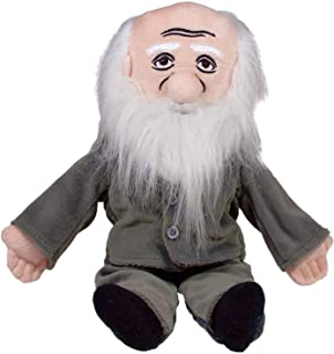 """Charles Darwin Little Thinker - 11"""" Plush Doll for Kids and Adults"""