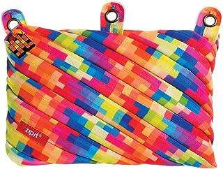 ZIPIT Pixel 3-Ring Pencil Case, Yellow