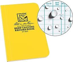 Rite in the Rain Weatherproof Beef Calving Record Notebook, 3