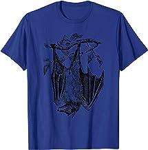 Bat Hanging Upside Down Animal Wildlife Nature T-Shirt