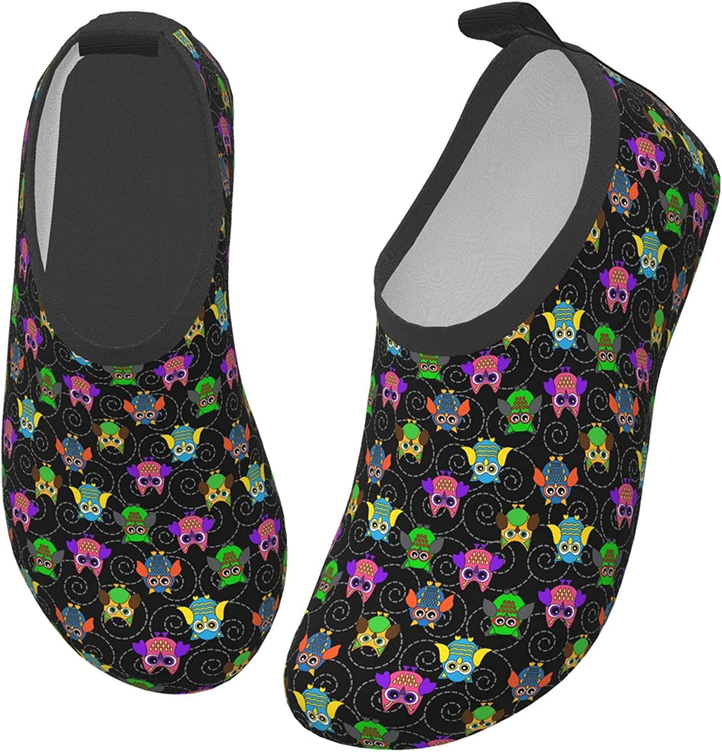 Halloween Funny Owl Autumn Animal Children's Water Shoes Feel Barefoot for Swimming Beach Boating Surfing Yoga