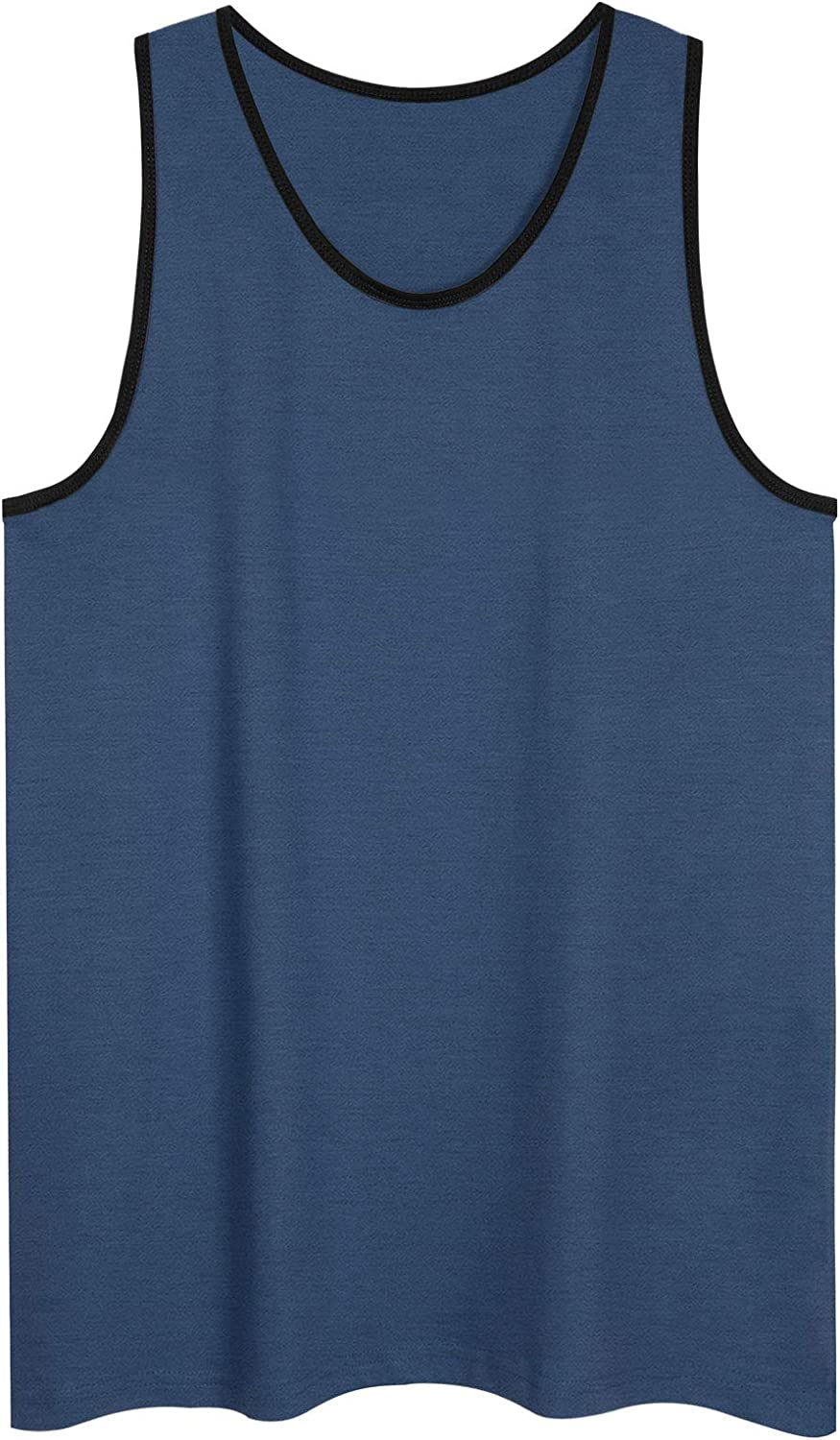 Men's Premium Basic Casual Athletic Sport Jersey Tank Tops Tshirts Work Out Gym