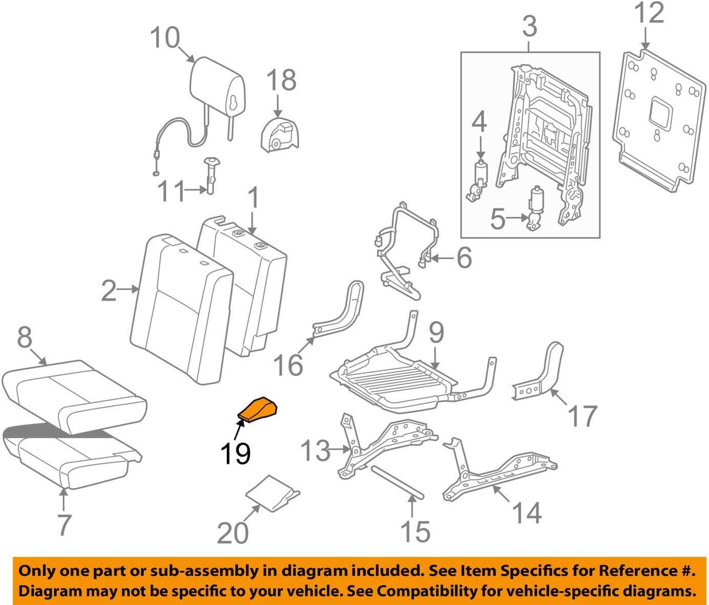 TOYOTA 72123-0C010-C0 Seat Bracket Cover 4 years Ranking TOP10 warranty Track
