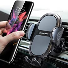 [2020 Upgrade] Universal Car Phone Mount, DesertWest Air Vent Cell Phone Holder for Car, [Noise-Free] Cradle Compatible with iPhone SE 11 Pro Max XR XS X, Samsung Galaxy S20 S10+ S10 S9 Note 10 More