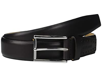Cole Haan 32 mm High Shine Smooth Leather Belt (Java) Men