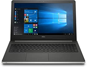 Dell Inspiron i5559-4413SLV 15.6 Inch Touchscreen Laptop with Intel RealSense (6th Generation Intel Core i5, 8 GB RAM, 1 TB HDD)