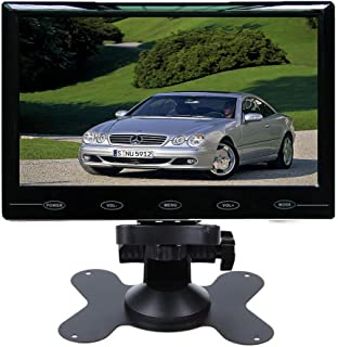 SallyBest 9'' Ultra Thin HD 800480 TFT Color LCD Screen 2 Video Input Car Rear View Headrest Monitor DVD VCR Monitor with ...