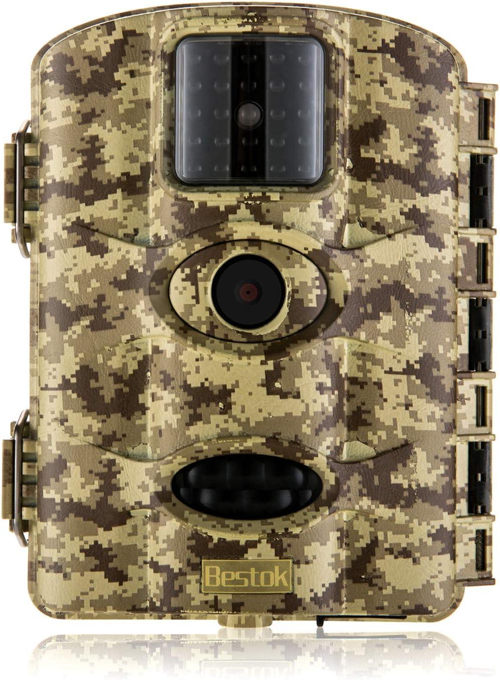 Classic Bestok Trail Save money Game Camera 16MP 1080P Hunting Waterproof Scouting