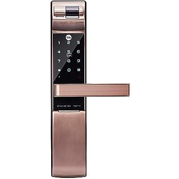 Yale YDM7116 Smart Mortise Lock - Fingerprint, PIN Code, RFID Card, Mechanical Key, Bluetooth Module Inside