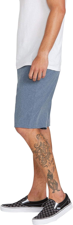 """Volcom Men's Kerosene 21"""" Hybrid Chino Shorts: Clothing"""