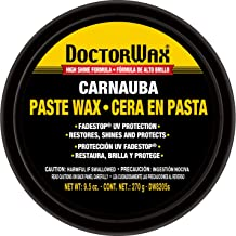 DOCTORWAX DW8205s Carnauba Paste Wax, 9.5-Ounce