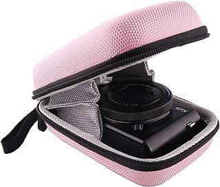 Canon PowerShot G7X / SX620HS/SX720HS/SX730HS/SX740HS/G9 Xデジタルカメラ専用収納ケース-WERJIA .JP (ピンク)