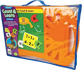 The Learning Journey Magnetic Count And Learn Board - 3 Years & Above, Multi Color For 3 Years & Above