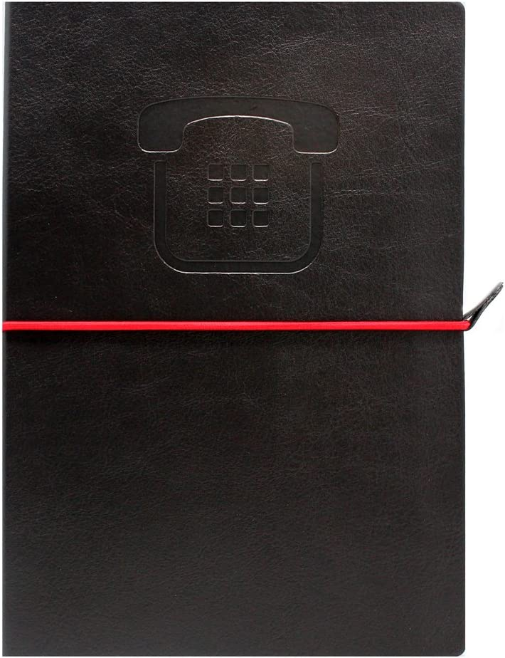 discount Make Notes MN Ranking TOP3 PT04Address Book–Black Collection
