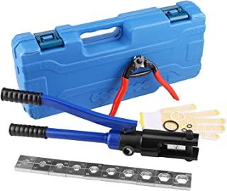 LICHAMP Hydraulic Cable Lug Tool, 4 AWG to 600 MCM...