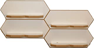 360 Knife Block Spec Deck (1 White) Modular Floating Shelving