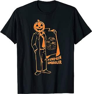 Pumpkin Smuggler Funny Halloween Costume Pregnancy Gift T-Shirt