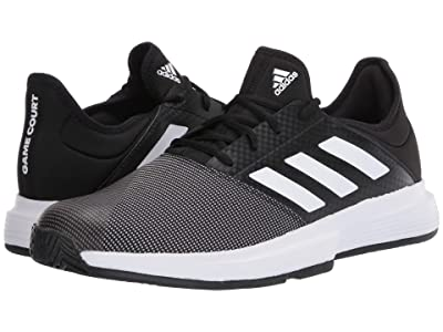 adidas GameCourt (Core Black/Footwear White/Grey Six) Men